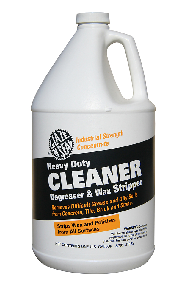 Heavy duty cleaner glaze 39 n seal for Alkaline concrete cleaner