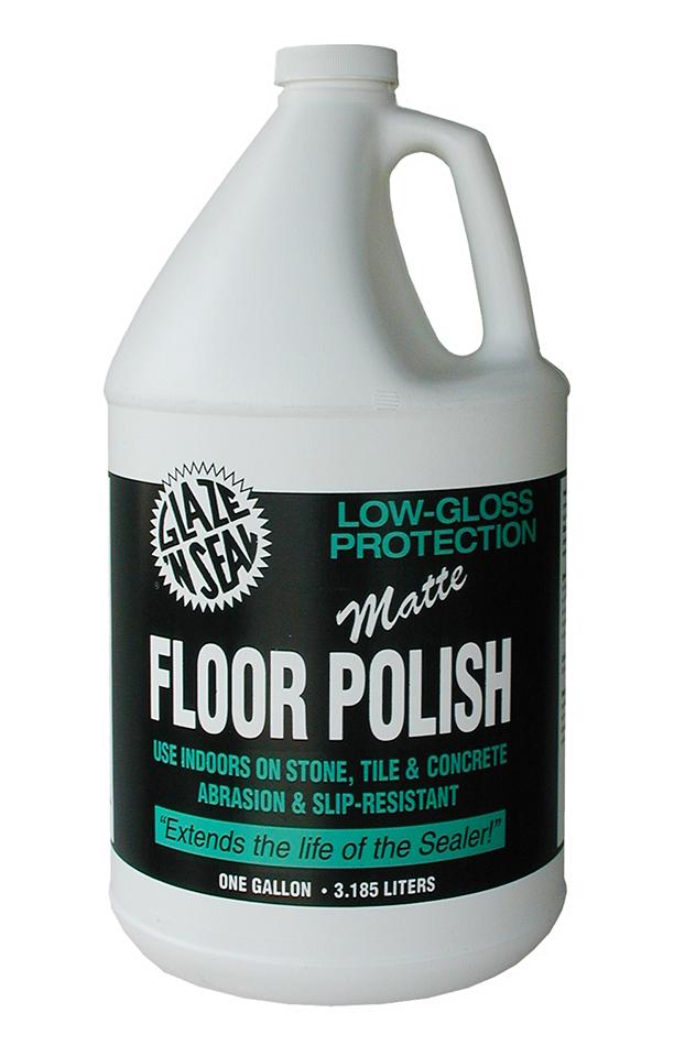 Matte Floor Polish Glaze N Seal Products