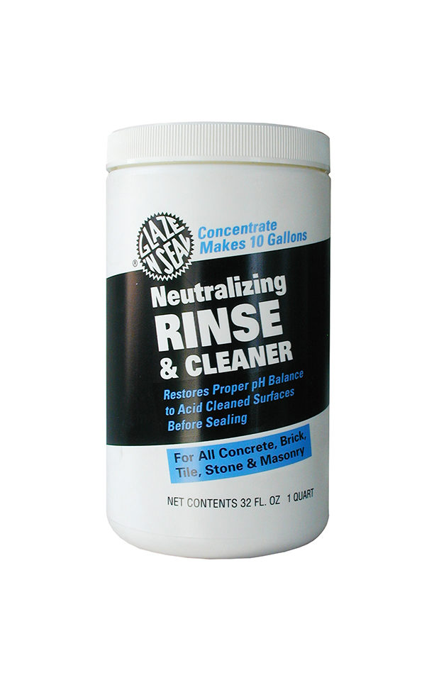 Neutralizing Rinse