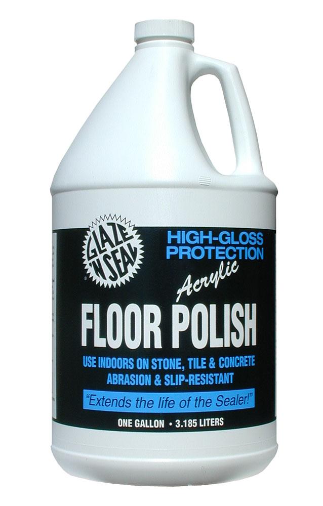 High Gloss Acrylic Floor Polish Glaze N Seal Products