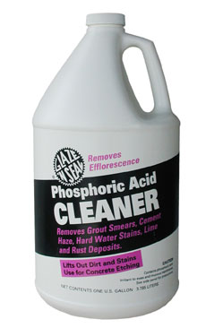 Phosphoric Acid Cleaner Glaze N Seal