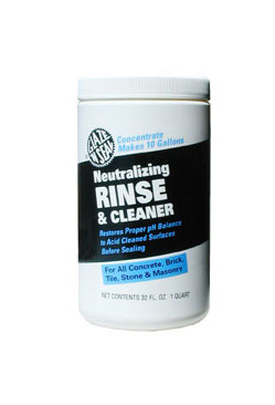 Neutralizing Rinse and Cleaner