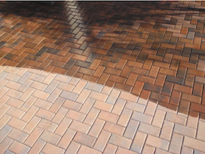 How To Seal Maintain Concrete Interlocking Pavers Brick Glaze - Behr premium wet look sealer reviews