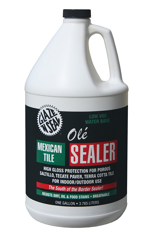 Ol 233 174 Mexican Tile Sealer Glaze N Seal